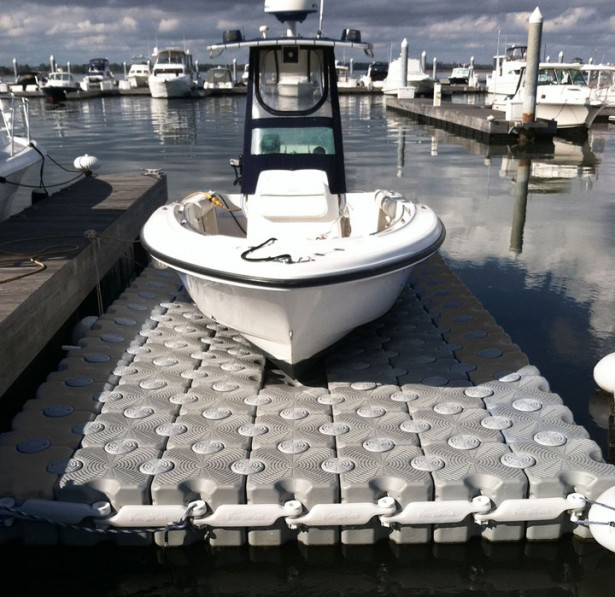 Large Boat Docks - Floating Boat Docks: Gulfstream Docks